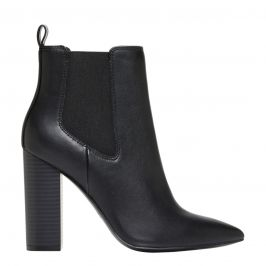 Women's elastic ankle boots - side view - Lipstik Shoes