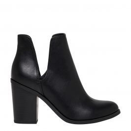 JOANIE BLACK CUT OUT BOOT