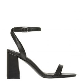 DOLL BLACK BLOCK HEEL