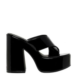 PRIMP BLACK PLATFORM HEEL